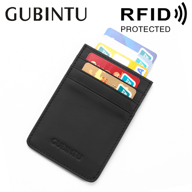 Fashion business card holders for men genuine leather men wallets fashion business card holders for men genuine leather men wallets rfid protected simple mini wallet colourmoves Images