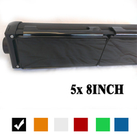 40 Inch Snap On Dust Proof Protective Covers Shell Black Amber Red Green Clear Blue Color
