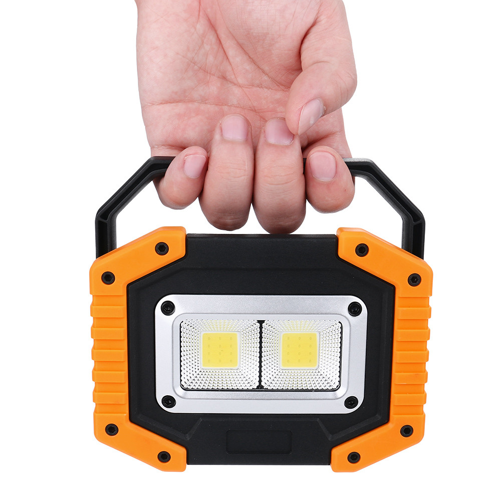 Lights & Lighting 2018 New Portable Led Smd Working Light Car Repair Auto Inspection Camping Lamp Cob 30w Gifts Wholesale & Drop Shipping Removing Obstruction Led Flashlights