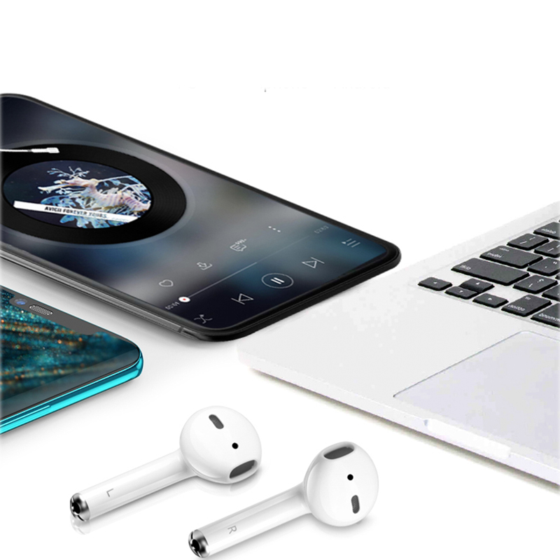 Image 4 - TWS I12  Portable IPX5 Waterproof Headphone Mini Wireless BluetoothEarbuds In ear Bluetooth Earphone For IP8 IP7 i7s And Xiaomi-in Bluetooth Earphones & Headphones from Consumer Electronics