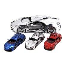 Több stílusú autó kirakós modell Fun Mini 3D fém puzzle manuális DIY Felnőtt gyerekek Oktató játékok gyűjtemény Karácsonyi ajándékok