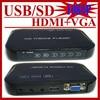 Full HD 1080P USB External HDD Media Player With AV HDMI VGA SD MKV H 264