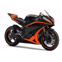 YZFR6 Orange w/ Matte Black Fairing Injection for 2006 2007 Yamaha R6 Yzf R6 R600 YZF R6