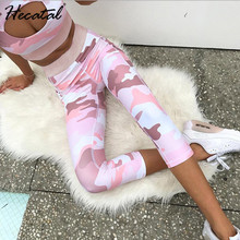 Womens Yoga Set 2 Pieces Sports Bra and Leggings for Women Camouflage Printed Gym Clothing Female Quick Dry Tracksuit