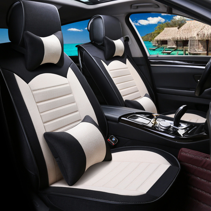 linen car seat cover  For Volkswagen  passat polo golf tiguan  autohyundai ix35 ix25 mercedes w211  supe accessorie stylinglinen car seat cover  For Volkswagen  passat polo golf tiguan  autohyundai ix35 ix25 mercedes w211  supe accessorie styling