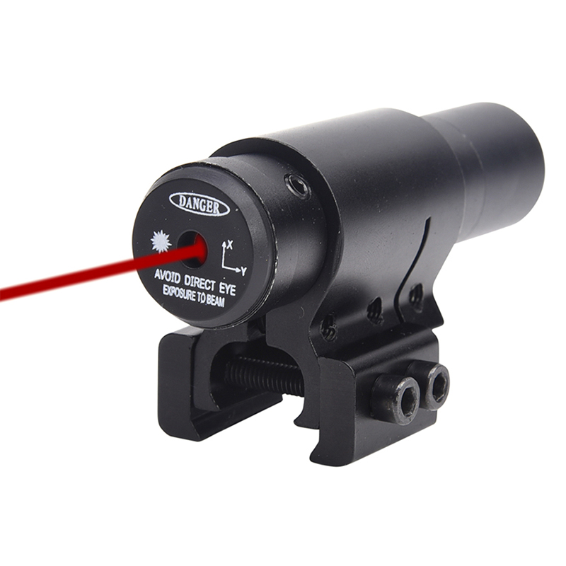 Hunting Compact Mini Adjustable Visible Tactical Red Dot Laser Scope Sight For Paintball 11mm 21mm Rail Military Gear Equipment