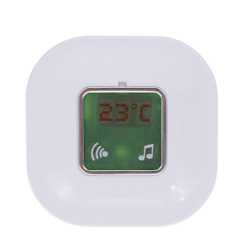 Home Wall Mount Wireless Electronic Doorbell Digital Display Thermometer