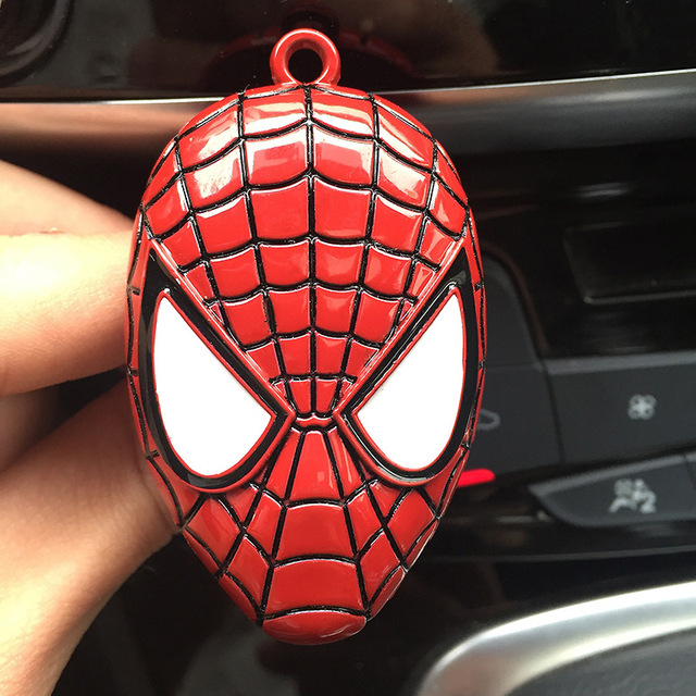 Car Air Freshener Clip Air Conditioning Ventilation Perfume Avengers Marvel Spider-Man Star Wars Fan Car Products Accessories 2