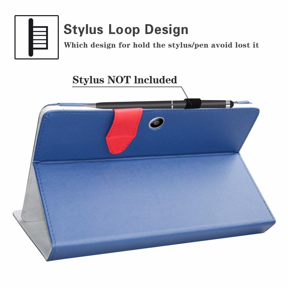 Tablet caso de Teclado Bluetooth Removível, Portátil Folding stand Case Couro Pu