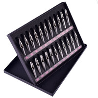 2019 New High Quality Tattoo Tips 22PCS Stainless Steel Tattoo Nozzle Tips for Machine Gun Needles Tube Kit Box Drop Shipping