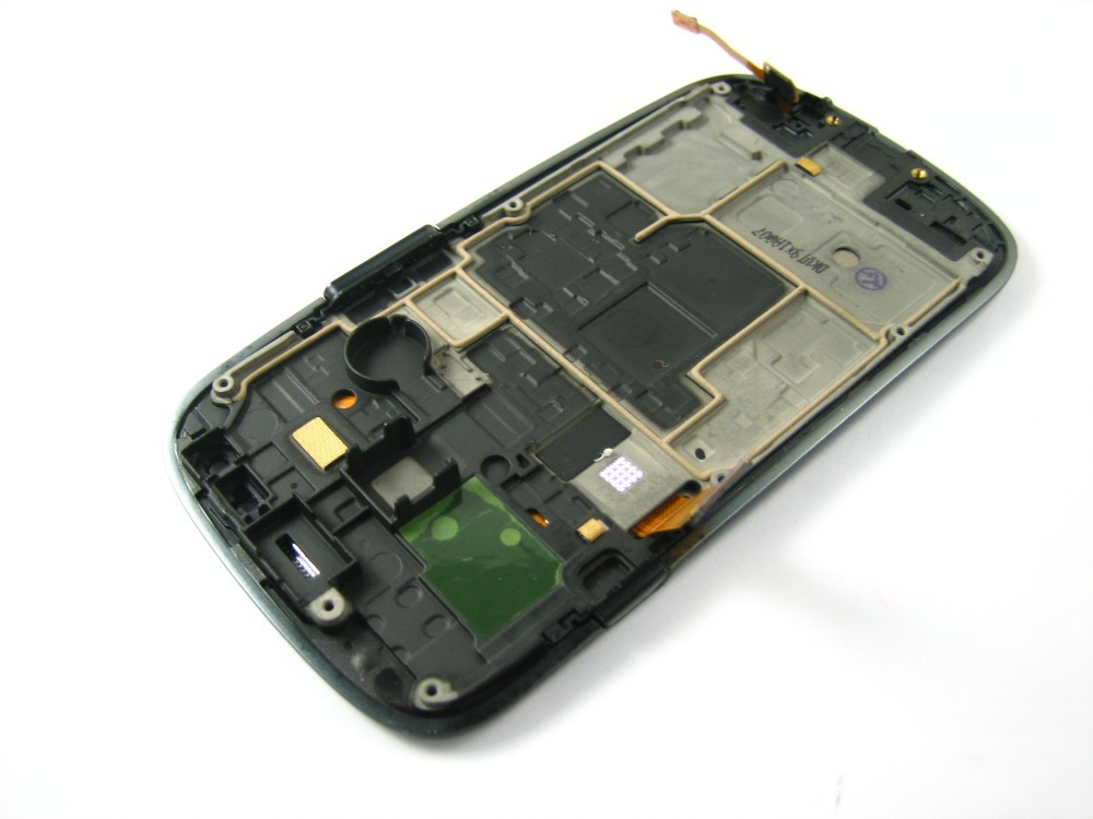 Replacement Full Amoled LCD Display Touch Screen Digitizer Frame for Samsung Galaxy S3 SIII mini GT