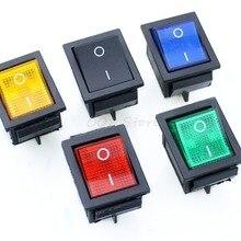 5 шт. фиксация кулисный переключатель питания I/O 4 шпильки с светильник 16A 250VAC 20A 125VAC KCD4