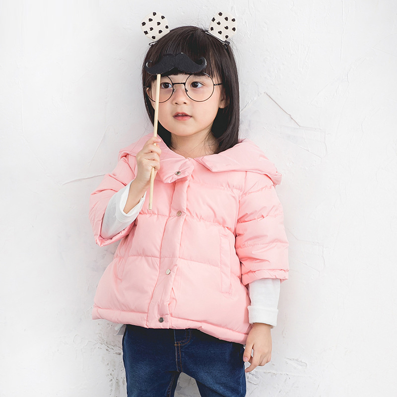 Girls Parkas Winter Clothes Baby Down Parka Coat Winter Warm Jacket Baby Hooded Kids Snow Outerwear