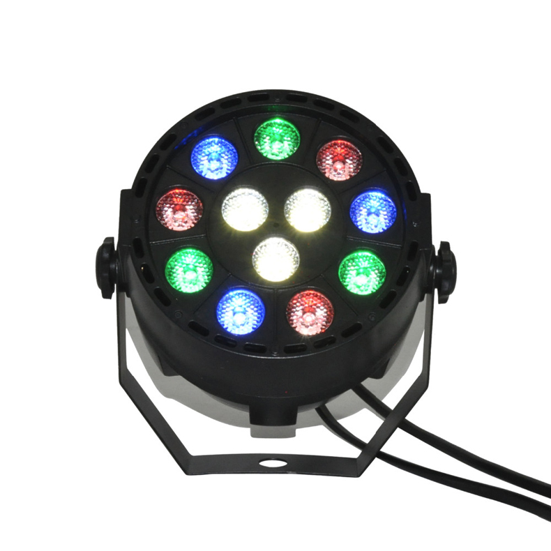 <font><b>12</b></font> x 1W <font><b>LED</b></font> stage light <font><b>DMX</b></font>-512 beam moving head light mini <font><b>LED</b></font> <font><b>Par</b></font> Lights <font><b>RGB</b></font> stage effect light image