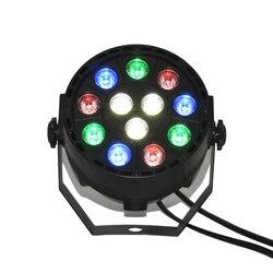 12x1 W LED światła etapie DMX-512 wiązki ruchome światło głowy mini LED Par światła RGB efekt etap światła
