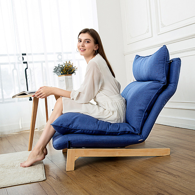 Chaise Lounge Chair and Ottoman Set 3