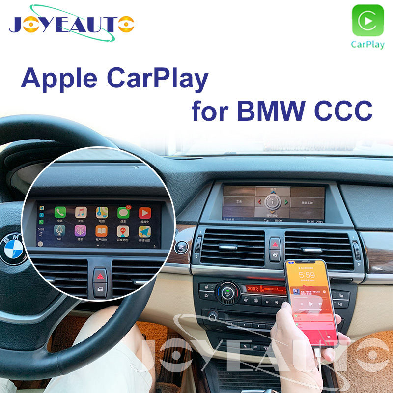 Us 403 34 14 Off Joyeauto Ccc Apple Carplay Retrofit 1 3 5 6 7 Sertes X1 X3 X5 X6 Z4 E60 E61 E62 E63 E70 E71 E8 For Bmw Support Reverse Camera In Tv