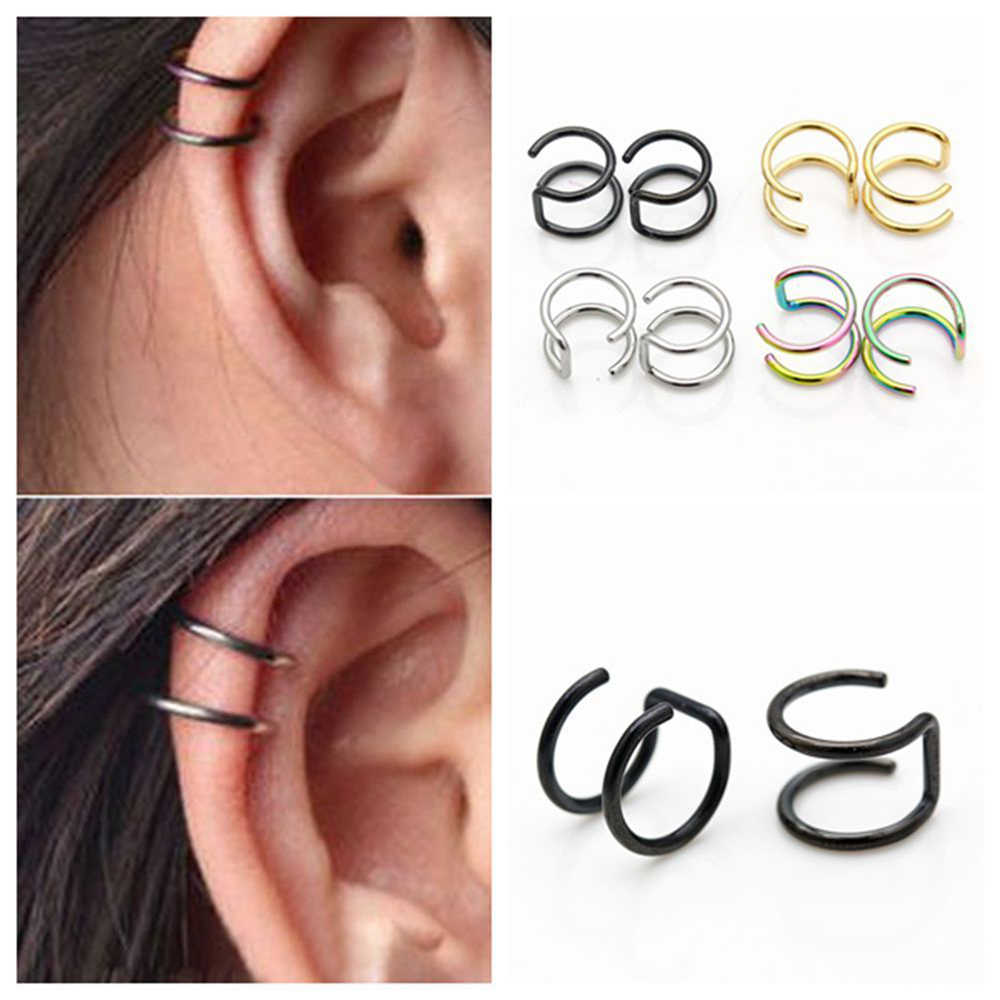 New Arrive Exquisite Earrings Bohemian Style Women Fashion U-shaped Hoop Earrings for Ladies Fashion Jewelry Party Supplies