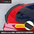 Подходит для Tesla model s 2014-2017 спойлер из углеродного волокна крылья
