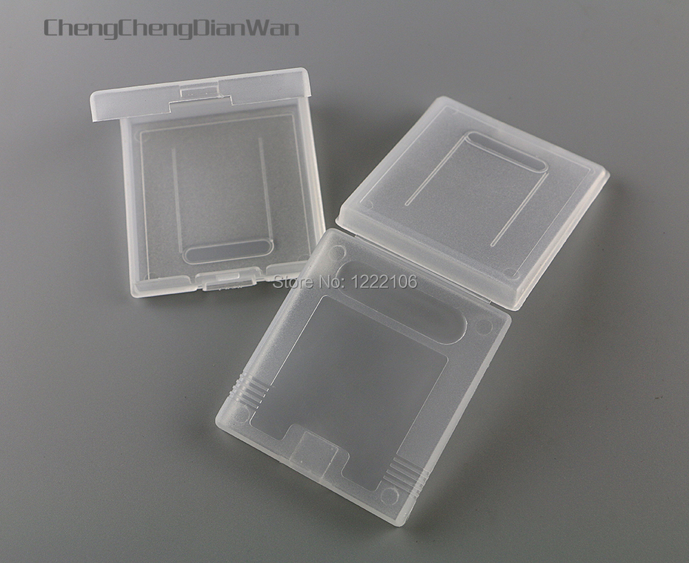 ChengChengDianWan 5pcs for GameBoy Color Pocket GB GBC GBP Plastic Game Cartridge Cases game box image