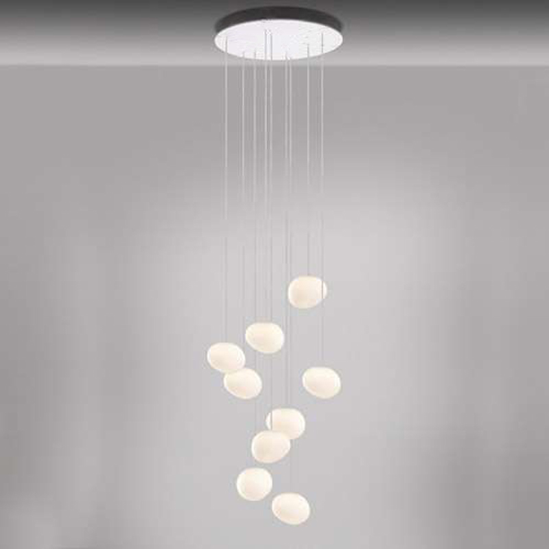 Gregg Piccola 3/ 6/ 7/ 9 heads Round Multipoint Pendant from Foscarini Suspension Lighting Fixture Hanging Lamp for Restaurant