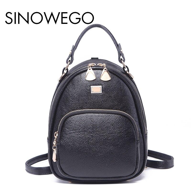 2018 New Fashion Mini Kanken Backpack Female Backpack Schoolbag Mini Backpack Women For Girls Genuine Leather Backpack School hadley backpack