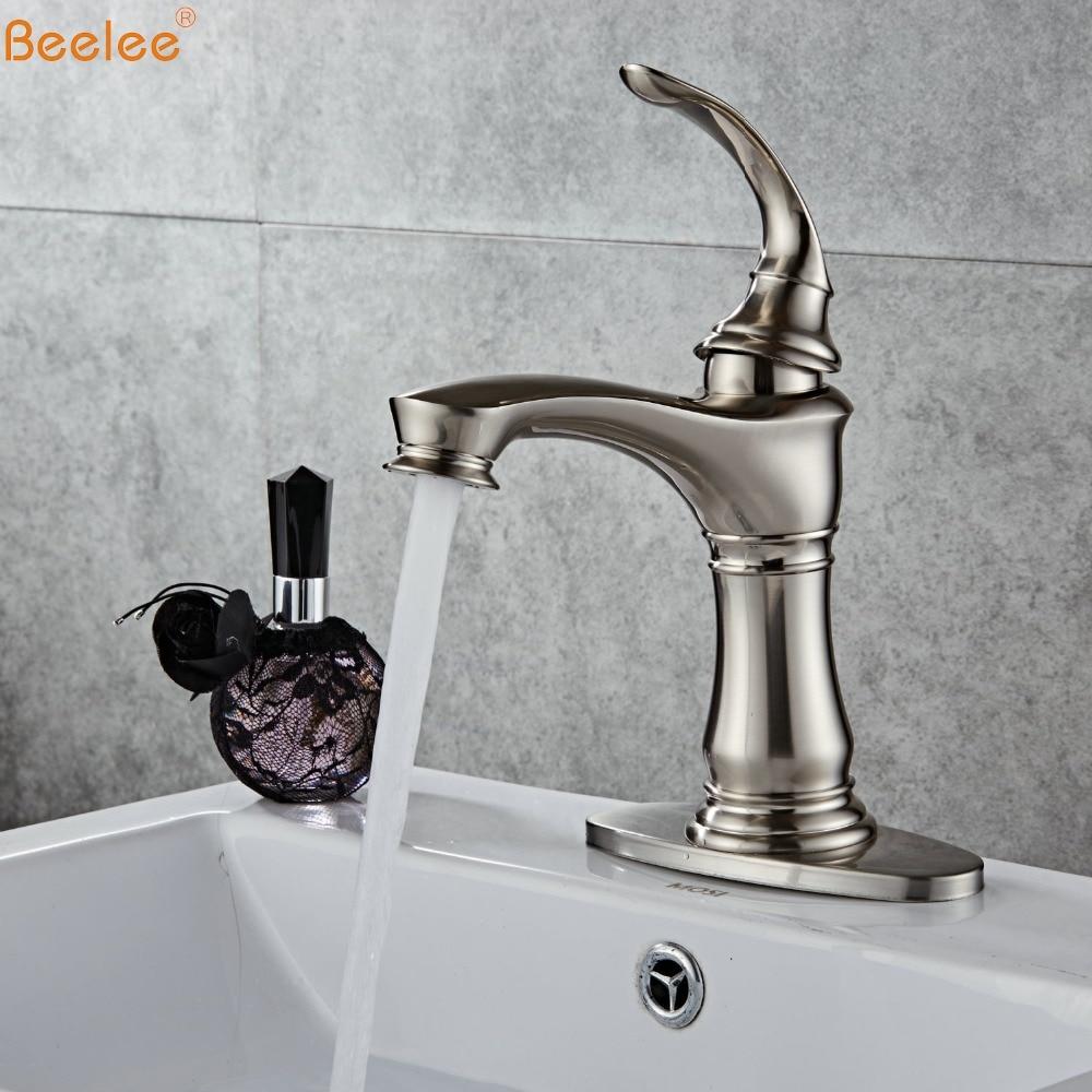 Beelee Bathroom Basin Faucets Tall&Low Basin Mixer Tap Antique Brass  Faucet basin mixer tap BL6700NBeelee Bathroom Basin Faucets Tall&Low Basin Mixer Tap Antique Brass  Faucet basin mixer tap BL6700N