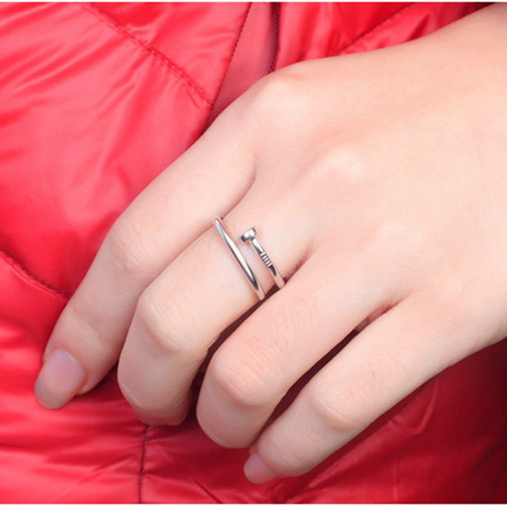 sterling silver jewelry Anniversary Ring Real Pure Sterling Silver ...