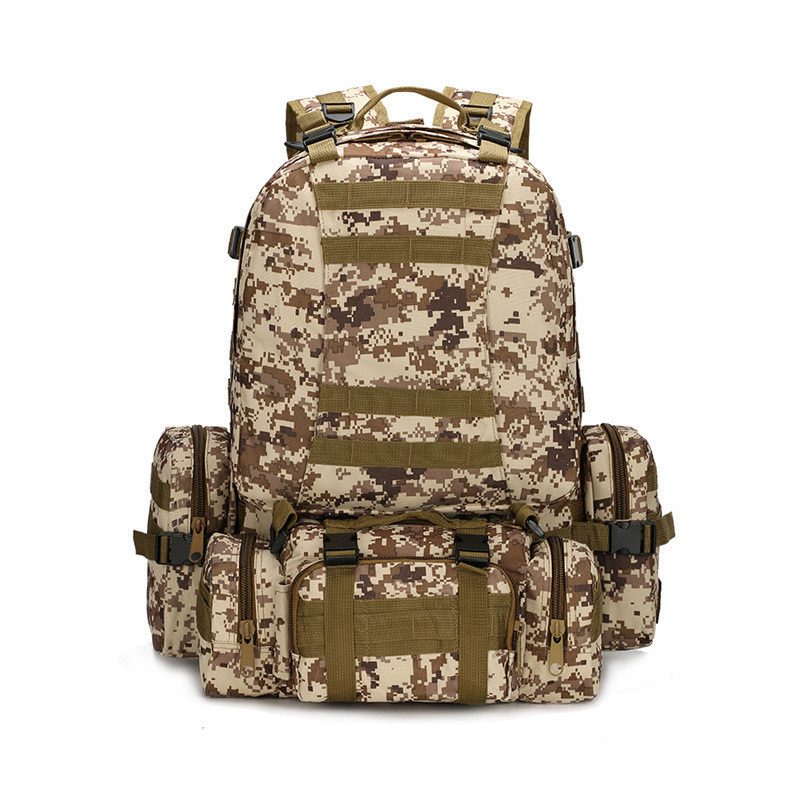ФОТО Brand New Large Capacity Package 3P Backpacks multi-function  bags backpack Mountaineering big backpack