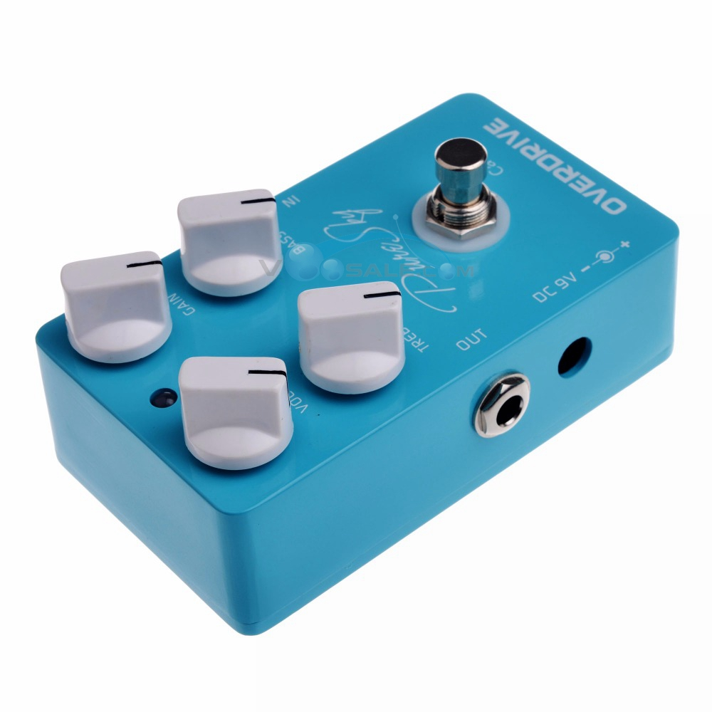 Image 2 - Caline CP 18 Amplifier Overdrive True Bypass Guitar Effect Pedal 