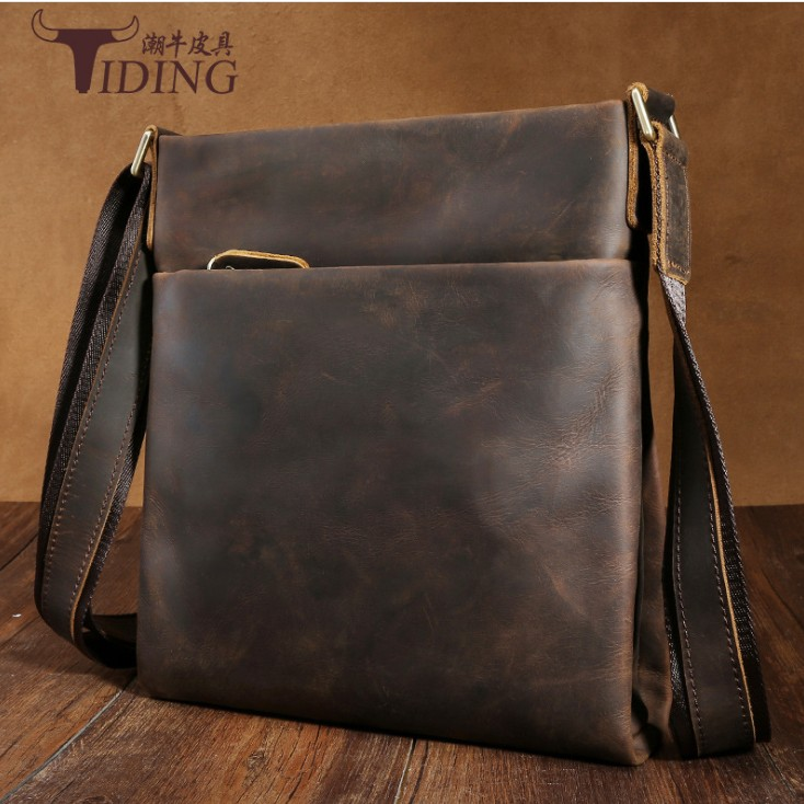 Shoulder Bags Cow Leather Man Brand Casual Designer Travel Crossbody Messenger Bags Men Real Leather Business Beach Summer Bag