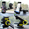 Universal Stickey Car Holder Smart Phone Navigation Support Suction 360 Rotate Adjustable 4-6 inch Bracket For iPhone Samsung