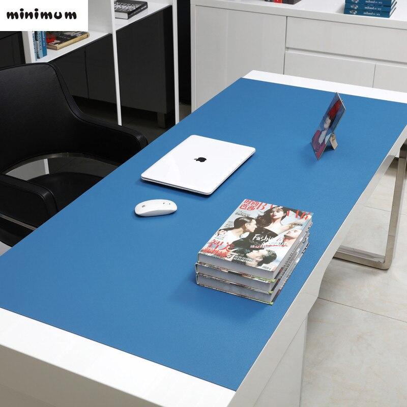 Tapis de bureau ordinateur d'affaires tapis de bureau tapis de souris grand tapis de table plus épais nouveau bureau multicolore pvc nappe livraison gratuite
