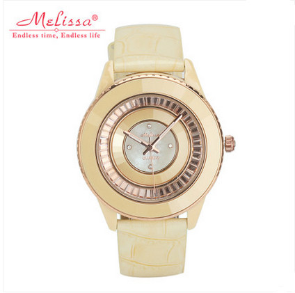 High Quality Ceramic Frame Women Watches Big Size MELISSA Dress Wristwatch Quartz 30MWater proof Leather Feminino Montre F11781High Quality Ceramic Frame Women Watches Big Size MELISSA Dress Wristwatch Quartz 30MWater proof Leather Feminino Montre F11781