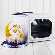 Color Boxed 12cm Anime Figuarts Zero Sailor Moon Figure font b Toy b font Princess Serenity