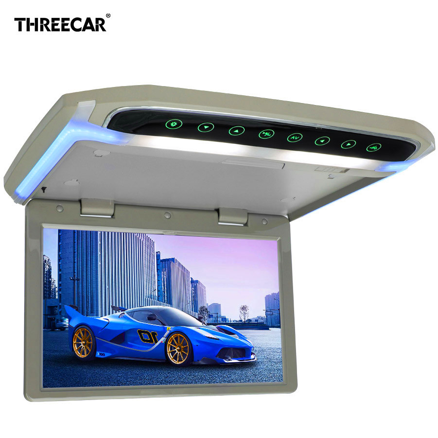 Ceiling Roof Monitor 10 1080P LCD TFT Screen Car Ceiling Monitor Flip Down Roof Mounted Display LED Digital Wide Screen Monitor dental caries developing illusteation tooth model demonstration teach patient