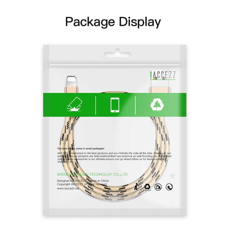 ! ACCEZZ dla kabel do iPhone ładowarka do Apple iPhone XR XS MAX 8 7 6S 6 Plus szybki kabel do ładowania dla iPad Mini 4 5 naładuj linia danych