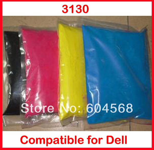 High quality color toner powder compatible Dell 3130 Free Shipping