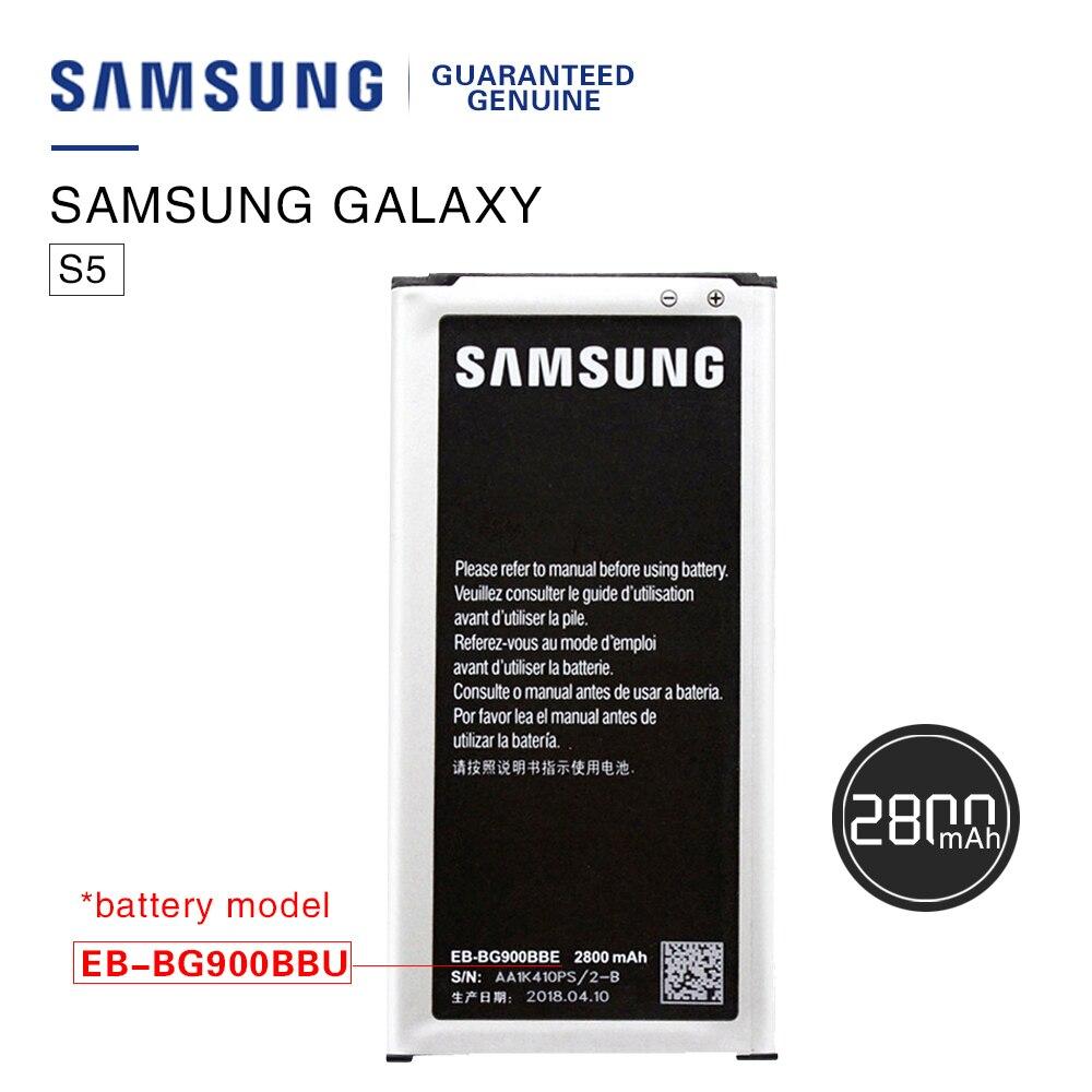 Original Batterie Für Samsung Galaxy S5 EB-BG900BBC NFC EB-BG900BBE s5 G900S G900F G9008V 9006 v 9008 watt 9006 watt 2800 mah Batteria Akku