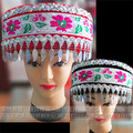 Chinese folk dance accessories Hmong Dong handmade Miao Yin hat Hmong costumes accessories