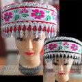 Dança popular chinesa Hmong Dong handmade Miao Yin de Hmong trajes acessórios