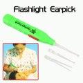 2017 LED Flashlight Earpick Curette Anti-slip Handle Ear Wax Cleaner Earwax Remover Tool