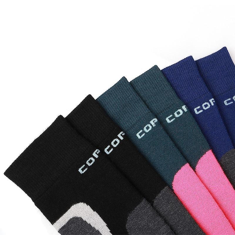 Image 3 - COPOZZ Ski Socks Thick Cotton Sports Snowboard Cycling Skiing Soccer Socks Men & Women Moisture Absorption High Elastic Sockssoccer socksski sockssocks cycling mens -