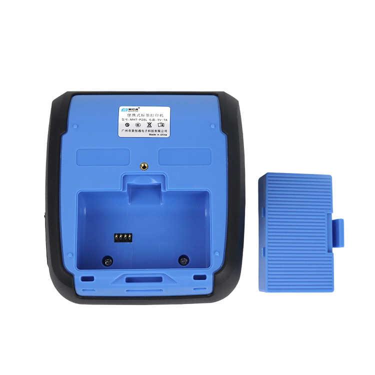 80mm Bolso Bluetooth Impressora Térmica Impressora de Etiquetas Label Maker 58 milímetros Recibo Impressora para Android/iPhone/POS ESC/Supermercado