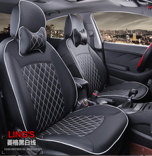 TO YOUR TASTE auto accessories custom luxury leather new car seat covers for Hyundai Verna MOINCA MISTRA Verna All New Santafe