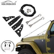 Экстерьера автомобиля конечностей Riser Kit царапинам Защитная крышка для 1997-2006 Jeep Wrangler TJ стайлинга автомобилей