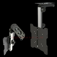 Aluminum 30inch 27inch 13inch 20 Tilt Down Tv Cabinet Mount Lcd Wall Rack Ceiling Bracket Led