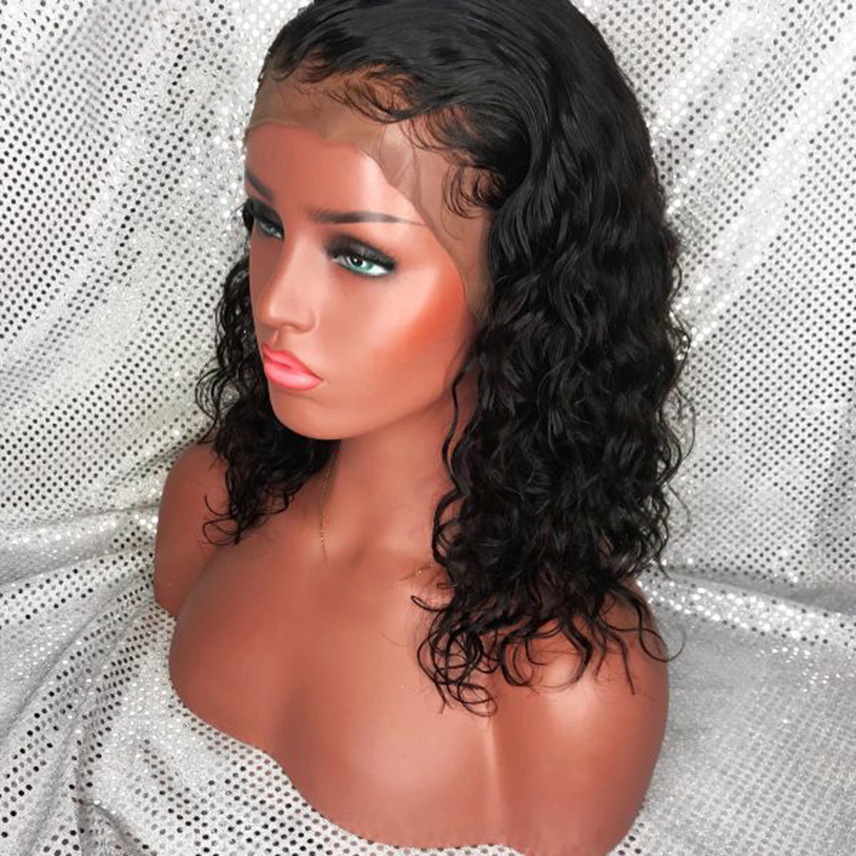 Preferred-Curly-Lace-Front-Human-Hair-Wigs-Brazilian-Remy-360-Lace-Frontal-Wig-With-Baby-Hair