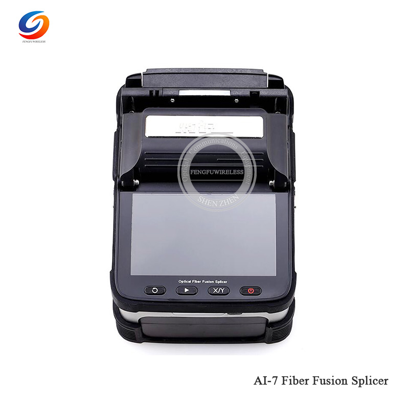 Free Shipping AI-7C Fusion Splicer SM/MM Automatic FTTH Splicer Optical Fiber Welding Machine AI-7C