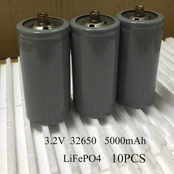 Sorvess 10PCS 3.2V LiFePO4 Battery IFR Rechargeable 5AH Lithium Ion Cell For Electric Bike E-bike Batteries Pack  With Screw